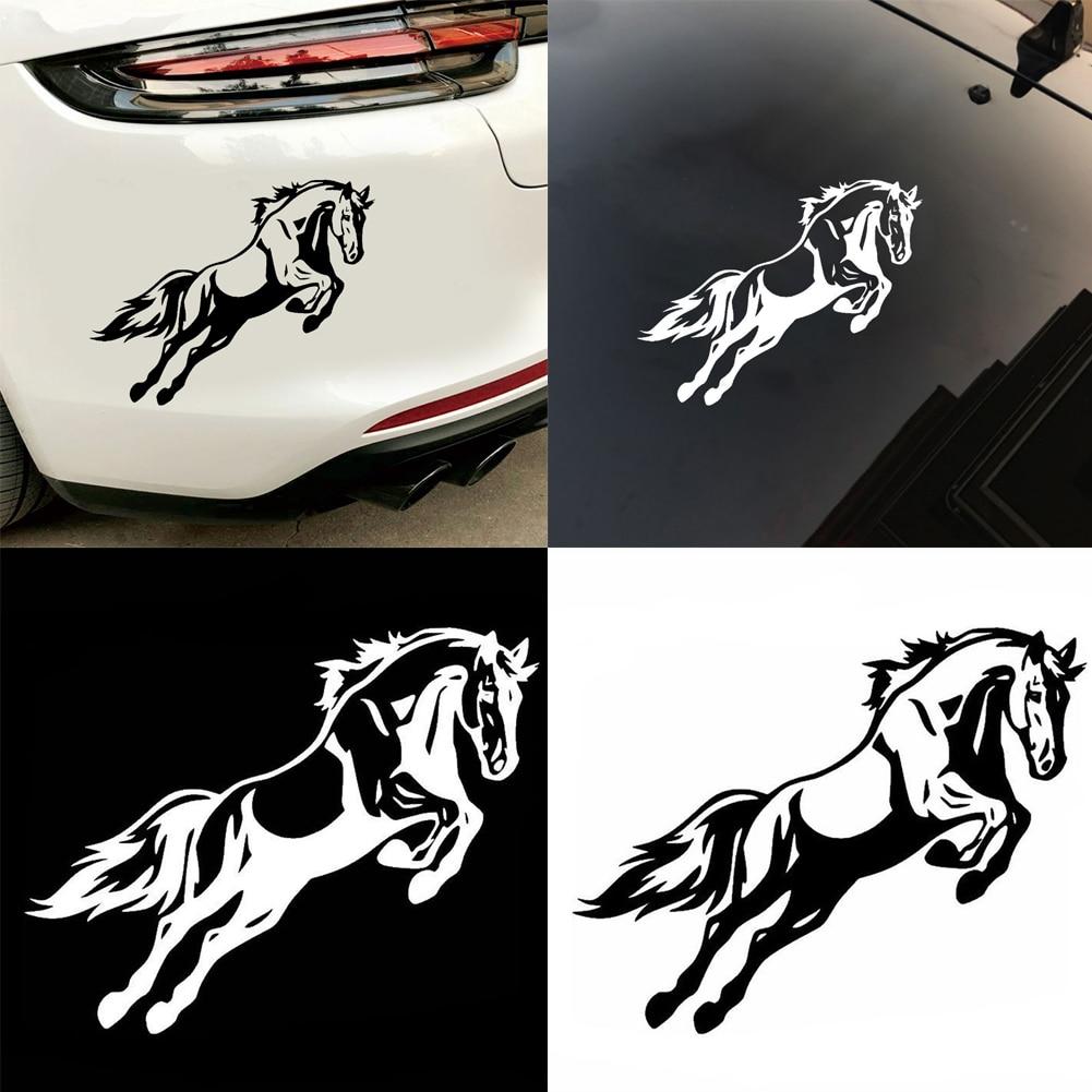 Creative Car Stickers Horse Shape Car Sticker Cartoon Car Warning Stickers Decal