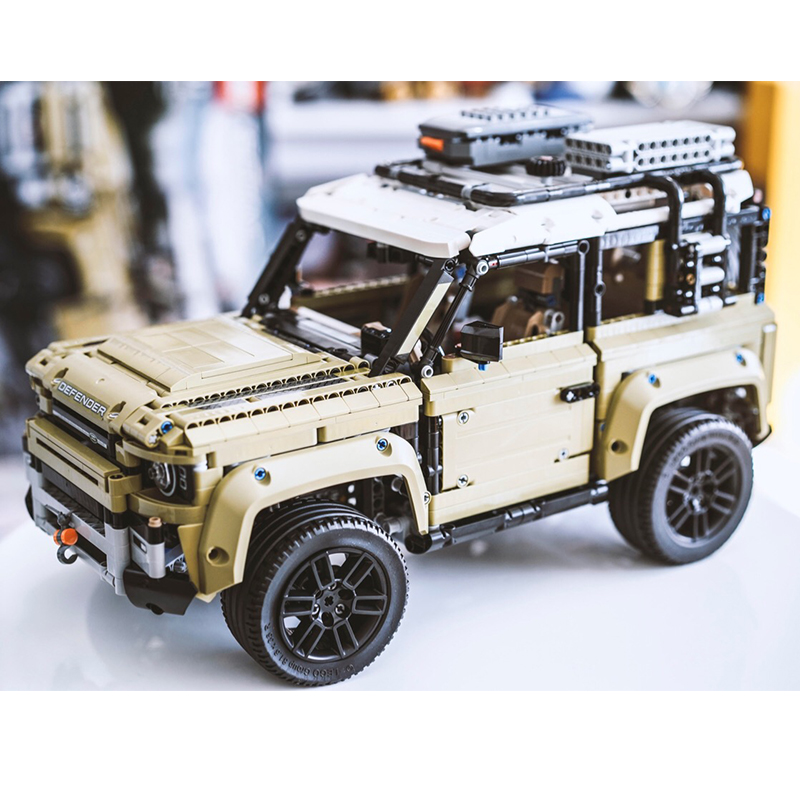 Technic Car Toys Compatible With LEGOED 42110 Land Rover Defender Set Assembly Car Model Building Blocks Bricks Christmas Toys