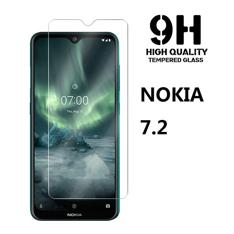 High-alumina Tempered Glass For <font><b>Nokia</b></font> <font><b>7.2</b></font> 6.2 2.2 4.2 9H Protective film <font><b>Screen</b></font> <font><b>Protector</b></font> For Nokia7.1 image