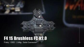 F4 1S controlador de vuelo sin escobillas V2.0 para pequeño Dron Fpv 1s (Frsky RX) Frsky FCC