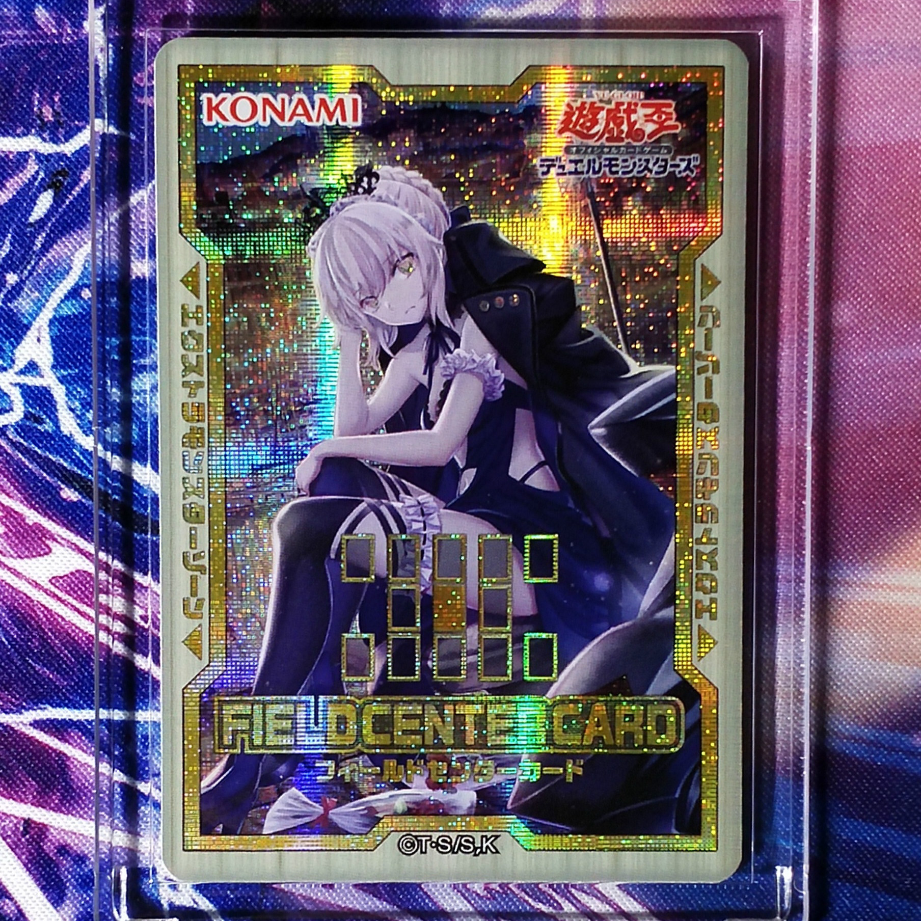 Yu Gi Oh FGO Fate Saber Alter DIY Colorful Toys Hobbies Hobby Collectibles Game Collection Anime Cards