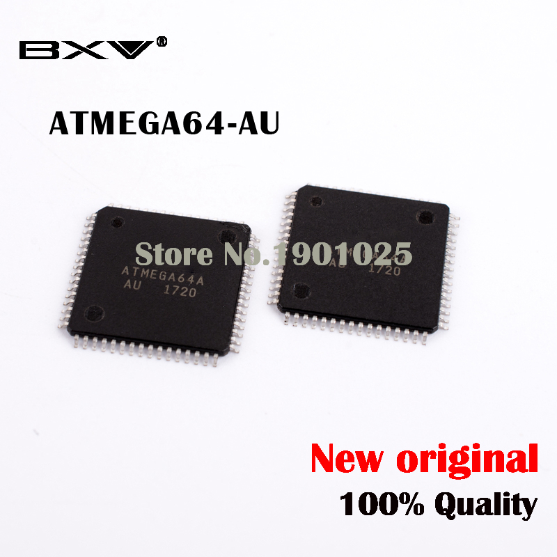 5pcs/lot  ATMEGA64 ATMEGA64A ATMEGA64A-AU New Original IC