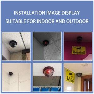 Image 3 - Towode Dummy Fake Camera Outdoor Indoor Fake Surveillance Camera Dome Cctv Bewakingscamera Met Knipperende Rode Led Light