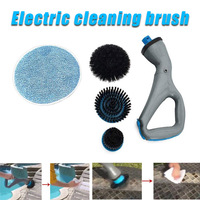 Handheld electric cleaning brush kitchen washing glass cleaner rotating scrubber tool bathroom furniture supplies LE66