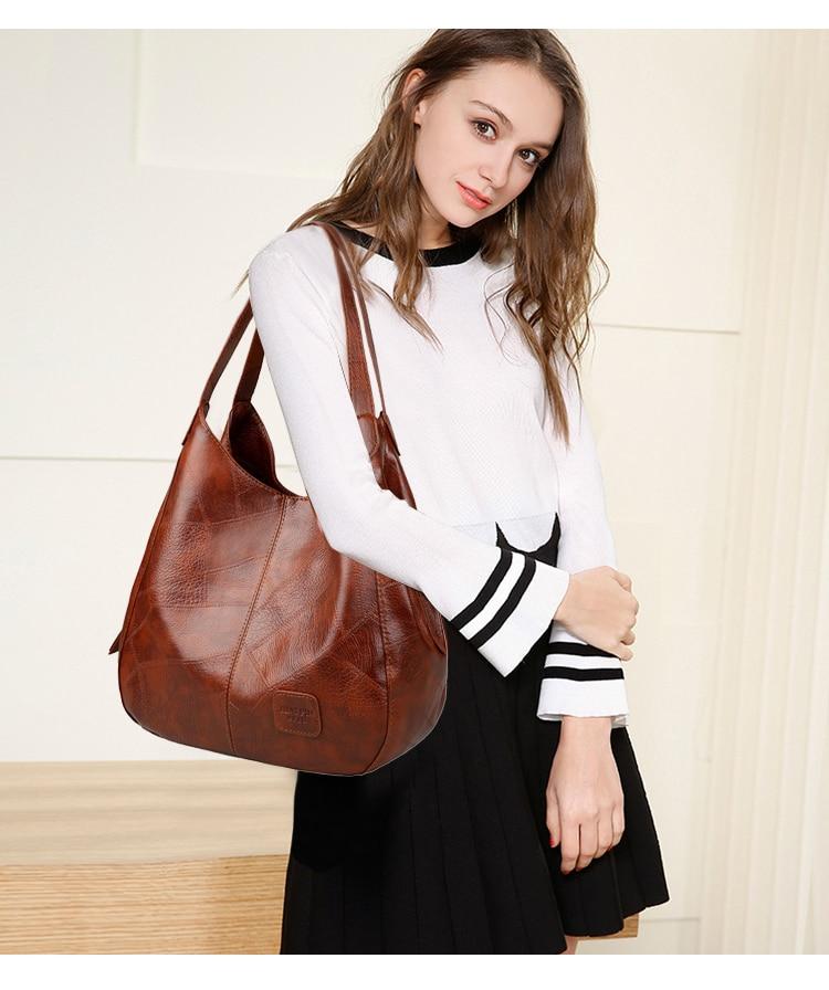 SMOOZA Vintage Womens Hand bags Designers Luxury Handbags Women Shoulder Bags Female Top-handle Bags Fashion Brand Handbags 6