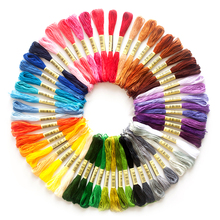Sewing-Tools Thread-Floss-Kit Anchor Embroidery Skeins Similar-Thread Multicolor Cotton