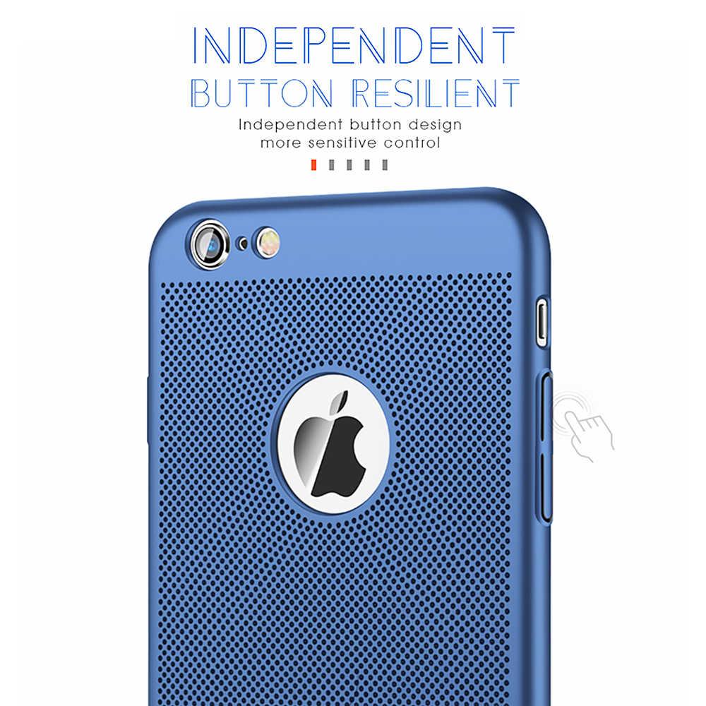 Для iPhone 11 Pro Max XR XS Max X ультра тонкий теплоотвод Жесткий ПК телефон чехол для iPhone 7 8 6 6S Plus 11 Pro максимальный чехол