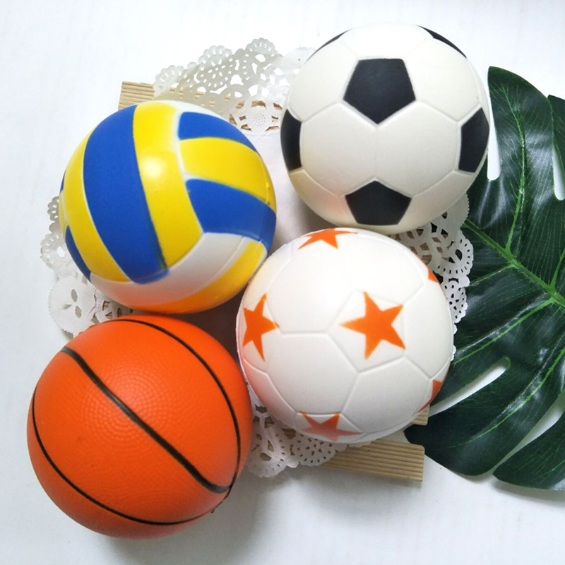 Football Squishy Slow Rising Cream Scented Decompression Kid Toys Gift