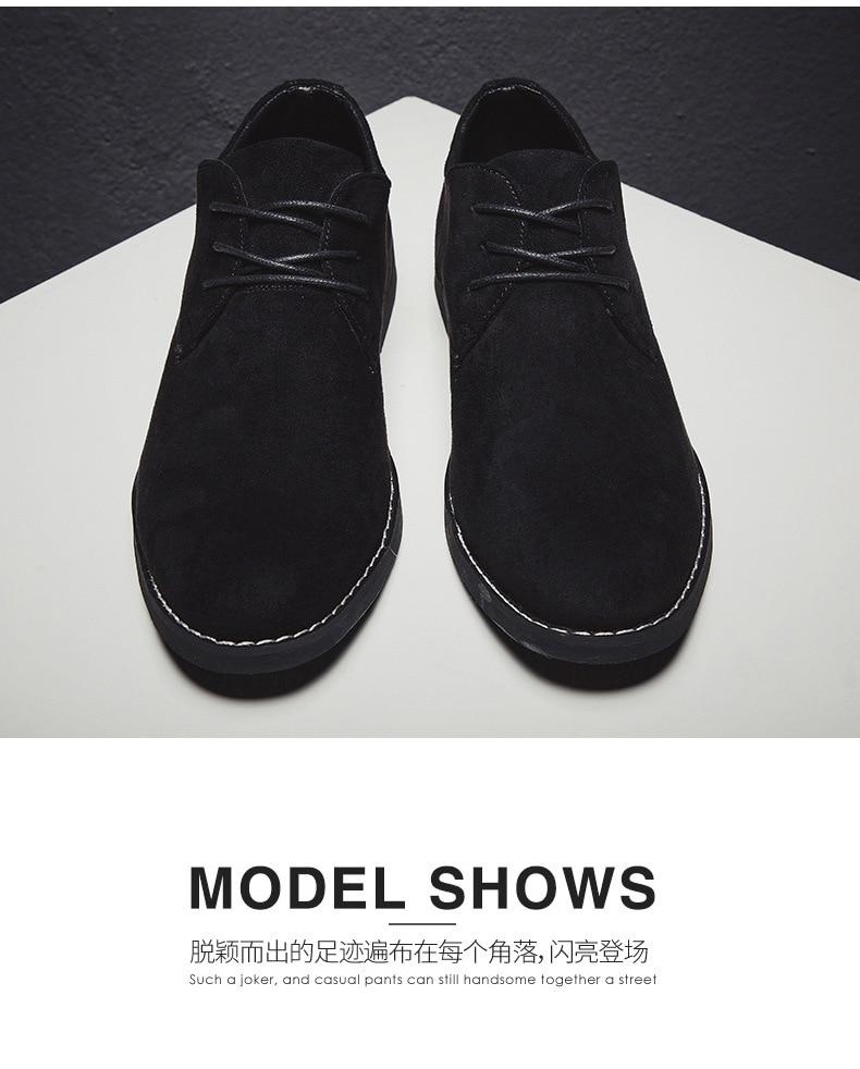 H978bcdd6c9cd47dfb16869321fdda9acp Merkmak Fashion England Trend Casual Shoes Men Flock Oxford Wedding Leather Dress Men Flats Waterproof Men Shoes Plus Siz