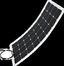 Легкая установка, лучшая Гибкая солнечная панель Sunpower 12 В, полугибкая панель s 100 Вт