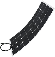 Łatwa instalacja najlepszy elastyczny panel słoneczny Sunpower 12v Semi flexi panele 100w