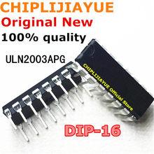 10-20 шт. ULN2003APG DIP16 ULN2003AP ULN2003A ULN2003 DIP-16 2003 новый и оригинальный чипсет IC