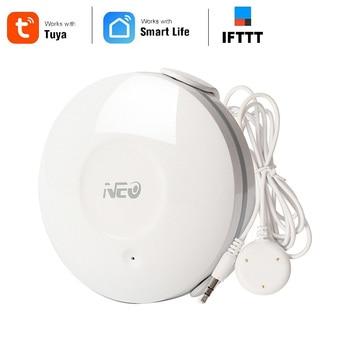NEO Coolcam Smart WiFi Water Flood Sensor Wireless Water Leakage Detector App Notification Alerts Leak Alarm Home Security лонгслив printio irish mexican alliance