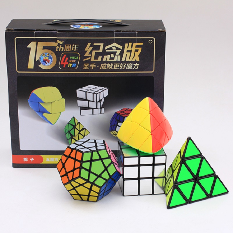shengshou toy 6pcs set kit cubo magico 3x3x3 magic cube toy neo cube jogos educativos toddler gifts and toys(China)