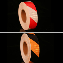 Adhesive-Tape Warning Sticker Caution Safety for Truck Motorcycle Car-Styling Arrow 5cmx10m/Roll