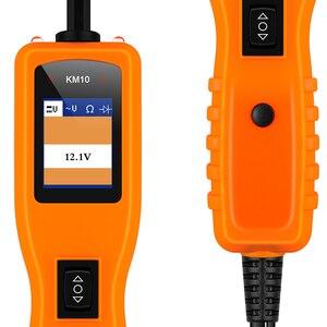 Image 5 - KZYEE KM10 Xe Mạch Bút Thử Powerscan Mạch Điện Đầu Đo Ô Tô Máy Quét Xe Công Cụ Chẩn Đoán Hệ Thống Điện Máy