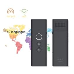 Portátil T1 Traductor Multi Línguas Tradutor de Voz Translaty Assistente Pessoal de Viagem de Interpretação Simultânea Vertaler