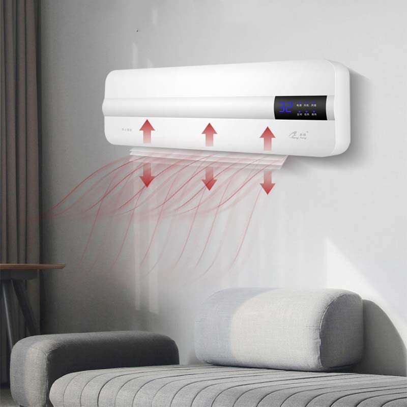 Energy-saving Wall-mounted Air Conditioner Portable Heating Fan Home Timing Free Installation Remote Control Wifi Thermostat