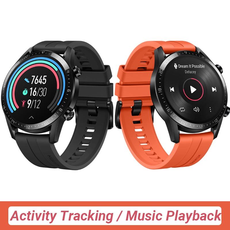 In stock Global Version HUAWEI Watch GT 2 GT2 Smart Watch Blood Oxygen SmartWatch 14 Days Phone Call Heart Rate Tracker 2