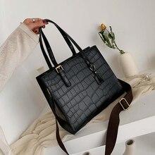 Mode Krokodil Muster Frauen Handtasche Leder Damen Hand Taschen Luxus Handtaschen Frauen Taschen Designer schulter tasche für frauen 2019