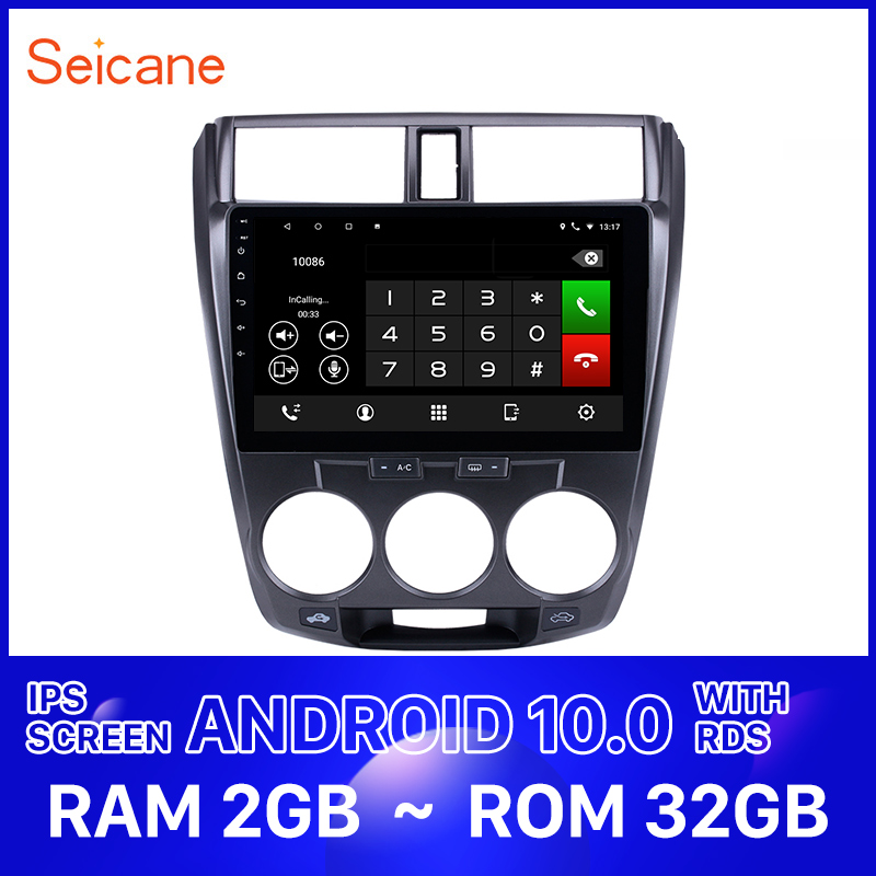 <font><b>Seicane</b></font> Car Auto Radio Android 10.0 HD 10.1