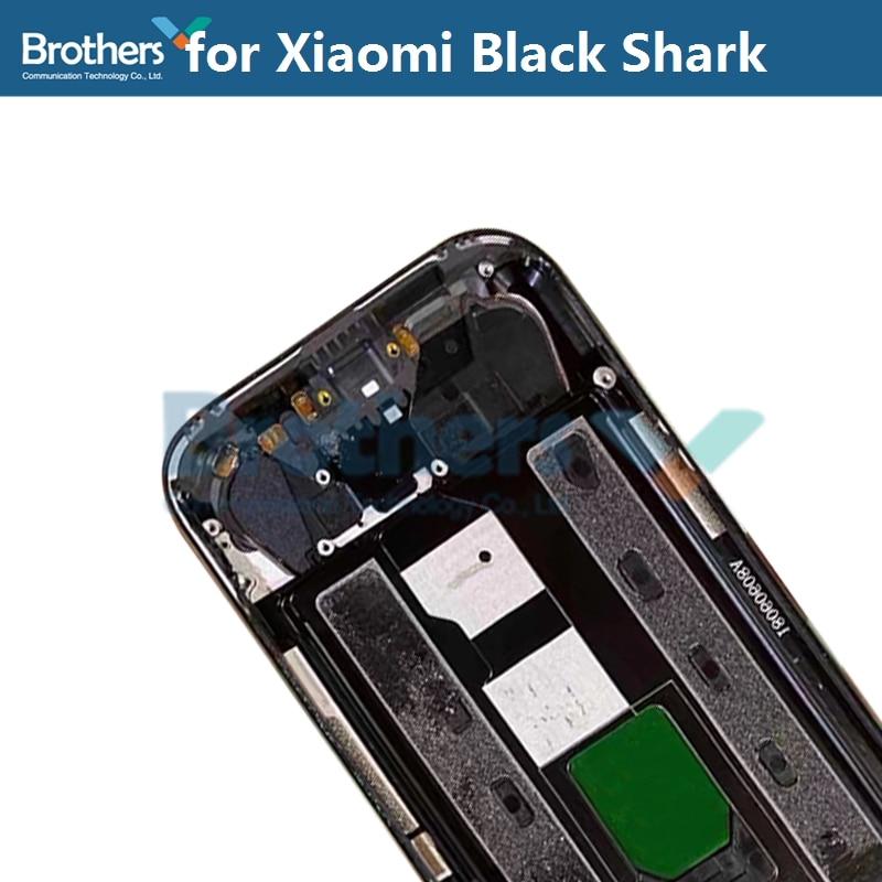 Original for Xiaomi Black Shark BlackShark Battery Housing Battery Door with Camera Lens Glass Back Cover Rear Housing Repair