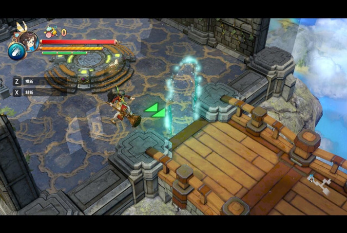 动漫风格动作冒险游戏:少女与异世界与魔导书(单机可双人模式) 配图 No.2
