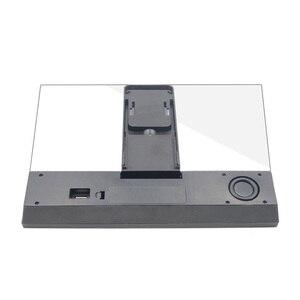 Image 3 - 12 Inch 3D Di Động Thiết Bị Phóng To Màn Hình Điện Thoại Với Loa Bluetooth HD Kính Phóng Đại Đế Cho Màn Hình Video Mở Rộng Giá Đỡ Điện Thoại
