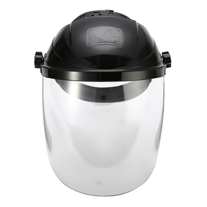 Image 3 - Anti choque capacete de soldagem rosto escudo máscara de solda lente transparente rosto olho proteger protetor anti uv anti choque máscara de segurança