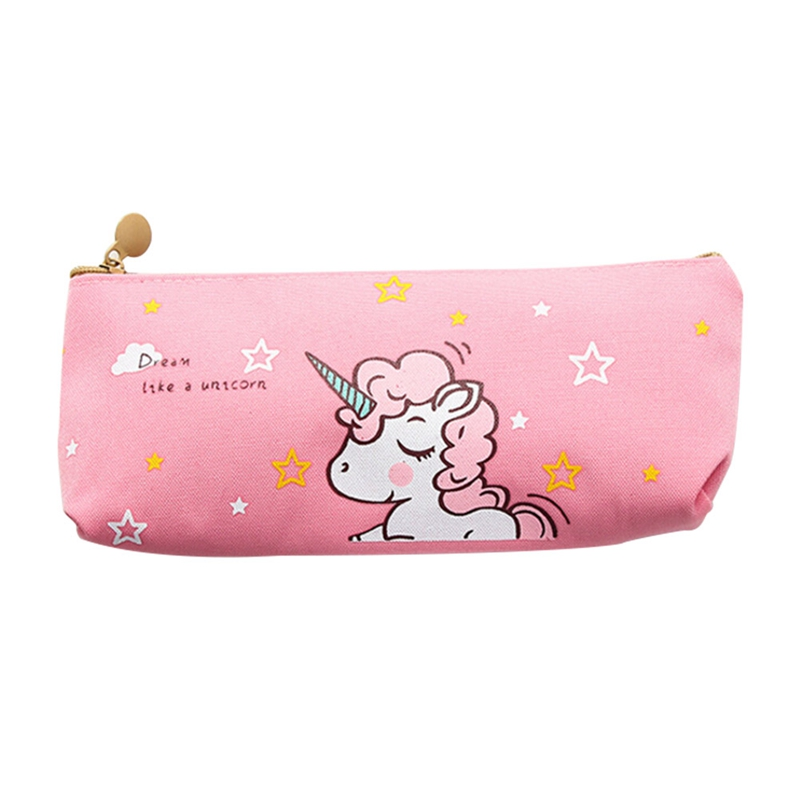 Cute Printed Cosmetic Bags Colorful Makeup Case Portable Travel Necessary  Cosmetic Bag Pencil Case