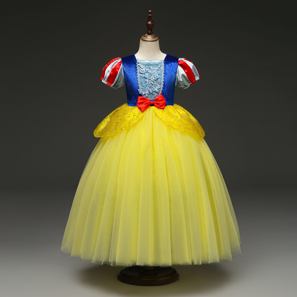 Snow White Kids Toddler Girls Princess Fancy Dress Cosplay Party Costume Clothes