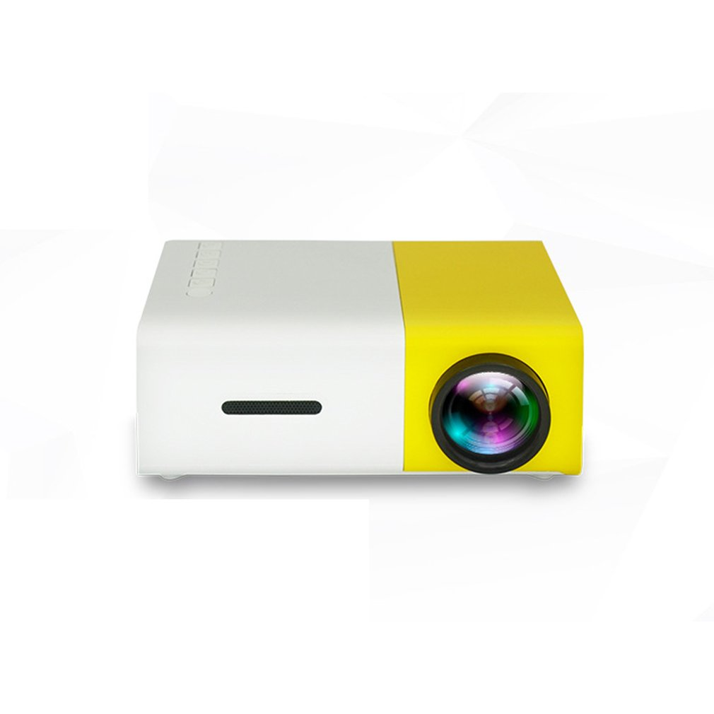 Cheap YG300 LED Mini Projector 320x240 Pixels Supports 1080P YG-300 HDMI USB Audio Portable Projector Home Media Video Player