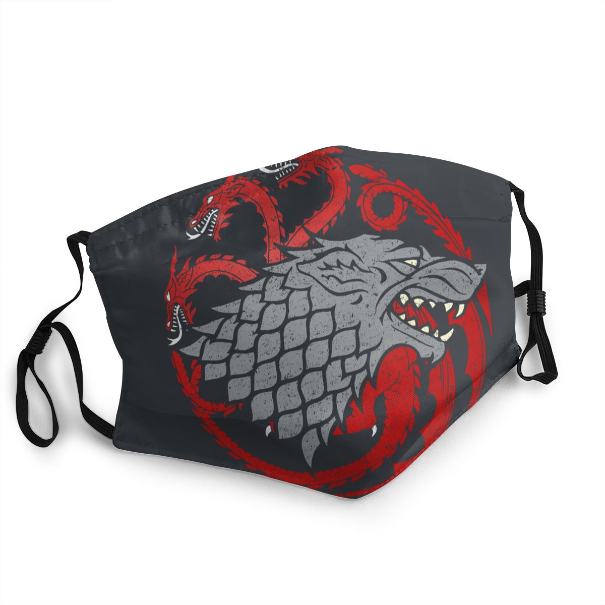 House Stark Targaryen Reusable Mouth Face Mask Game Of Thrones Anti Haze Dust Protection Cover Respirator Mouth Muffle