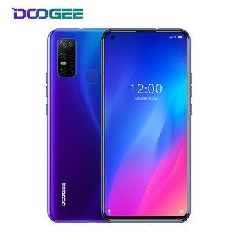 Перейти на Алиэкспресс и купить Оригинальный Новый DOOGEE N30 смартфон Full Netcom 6,55 дюйм4 Гб 128 ГБ 4180 мАч Android 10 4G LTE телефоны Bluetooth 5,0 NFC мобильный телефон