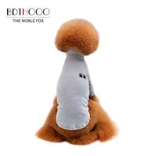 BDTHOOO хлопковая одежда для собак Одежда для домашних животных хлопковая футболка для собак цветные маленькие и средние летние и весенние Мягкие Рубашки