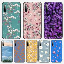 Flower Drawing Phone Case For Samsung S note S10E 6 7 8 9 10 20 plus edge lite Cover Fundas Coque