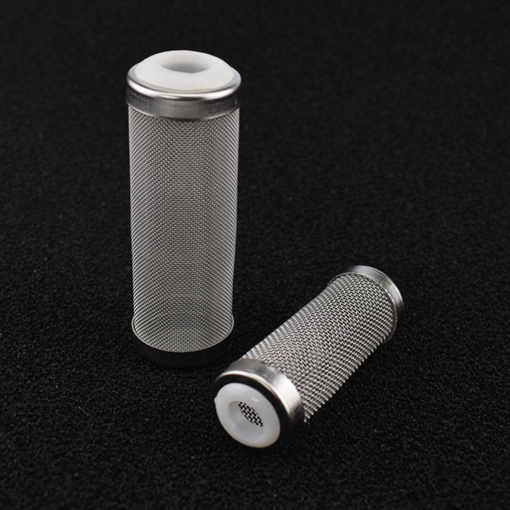 Fish Tank Filter Stainless Steel Inlet Case Mesh Shrimp Nets Special Cylinder Filters Inflow Inlet Protect Aquarium Accessories