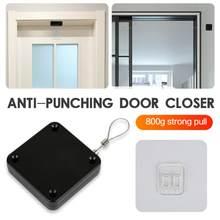 1 Uds Sensor automático de Puerta más adecuado para todas las puertas GOLPE DE 800g tensión Cierre Puerta Pestillo de la Puerta