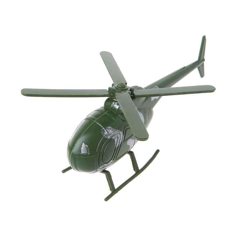 Helikopter Mainan Model Pesawat Mainan untuk Anak-anak Anak Dewasa Koleksi Hadiah Dekorasi R7RB