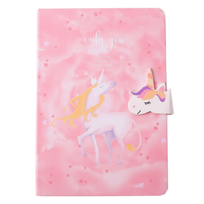 A5 Japanese Creative Stationery Gift For Girls Cute Colorful Pages