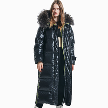 Winter Jacket Hooded-Fur-Coat Woman Parkas Warm Thick Long Casual Women's Cotton CEPRASK