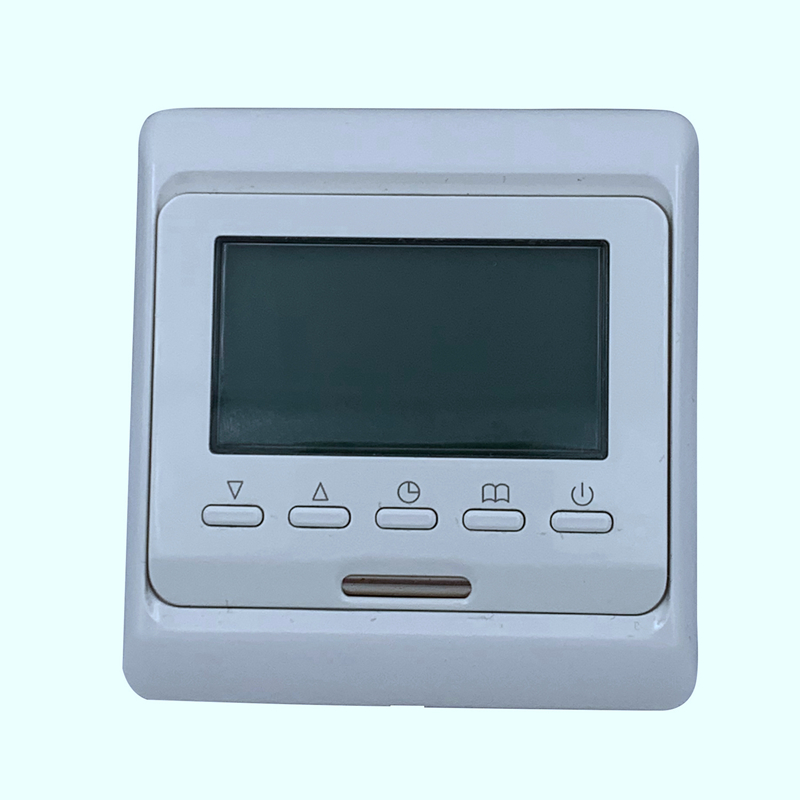 220V 16A LCD Programmable Heating Cable Controller Electrical Digital Infrared Warm Floor Thermostat