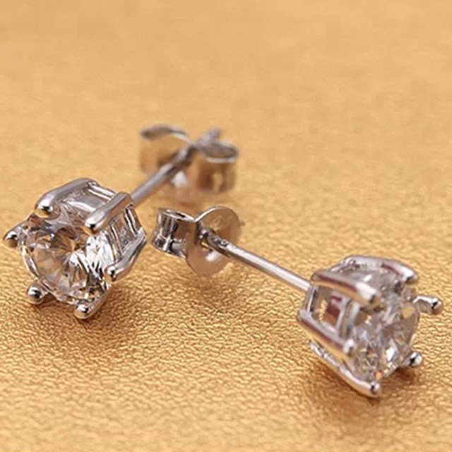 Silver Plated Earrings 5