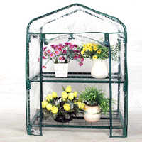 2/3/4/5 Tiers Home Plant Portable PVC Greenhouse Garden Cover Plants Flowers Mini Garden Cover Without Iron Frame
