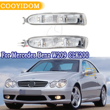 COOYIDOM зеркальный светильник с поворотным сигналом для Mercedes Benz W209 CLK200 CLK220 CLK240 CLK280 CLK320 2002-2009
