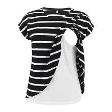 Топ для кормления грудью беременных женщин футболка с круглым