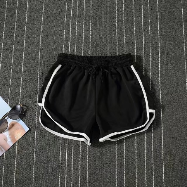 2017 Summer MEN'S Sports Shorts Teenager Comfortable Simple Shorts Candy-Colored Couples Extra Short Pants