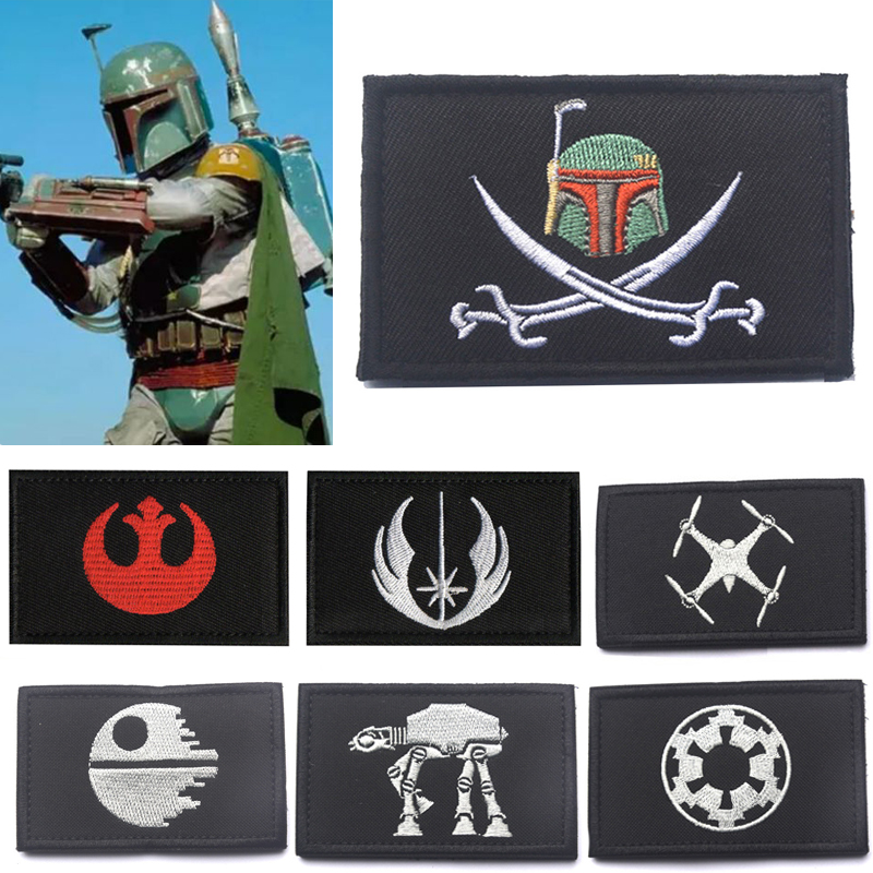 Star Wars The Mandalorian Boba Fett Armband BadgeCosplay Props Unisex Costume Tactical Patch The Rise Of Skywalker