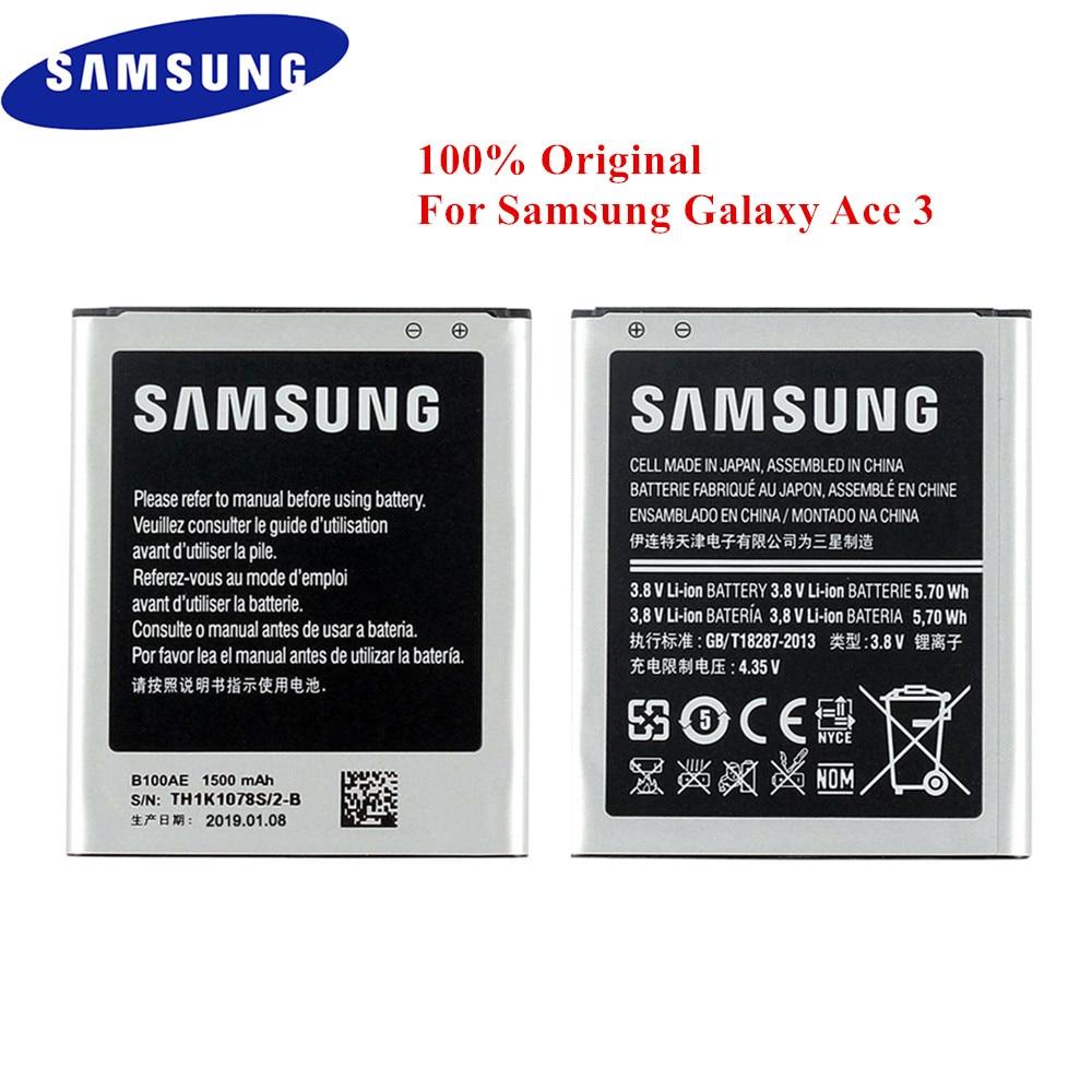 Original Samsung Galaxy gt-s7390 Pile Batterie b100ae 1500 mAh Accu Batterie