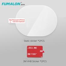 Прочная и легкая прозрачная наклейка 70Mai 3 м держатель для Xiaomi 70mai держатель для камеры со статической электрическая наклейка
